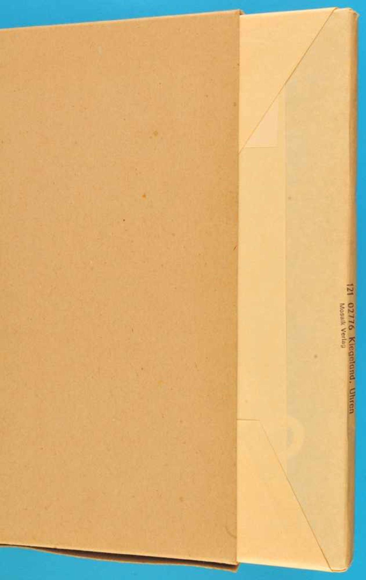 Los 19 - Burkhard Kiegeland, Uhren, 1976, 144 Seiten mit vielen s/w- und FarbabbildungenBurkhard Kiegeland,