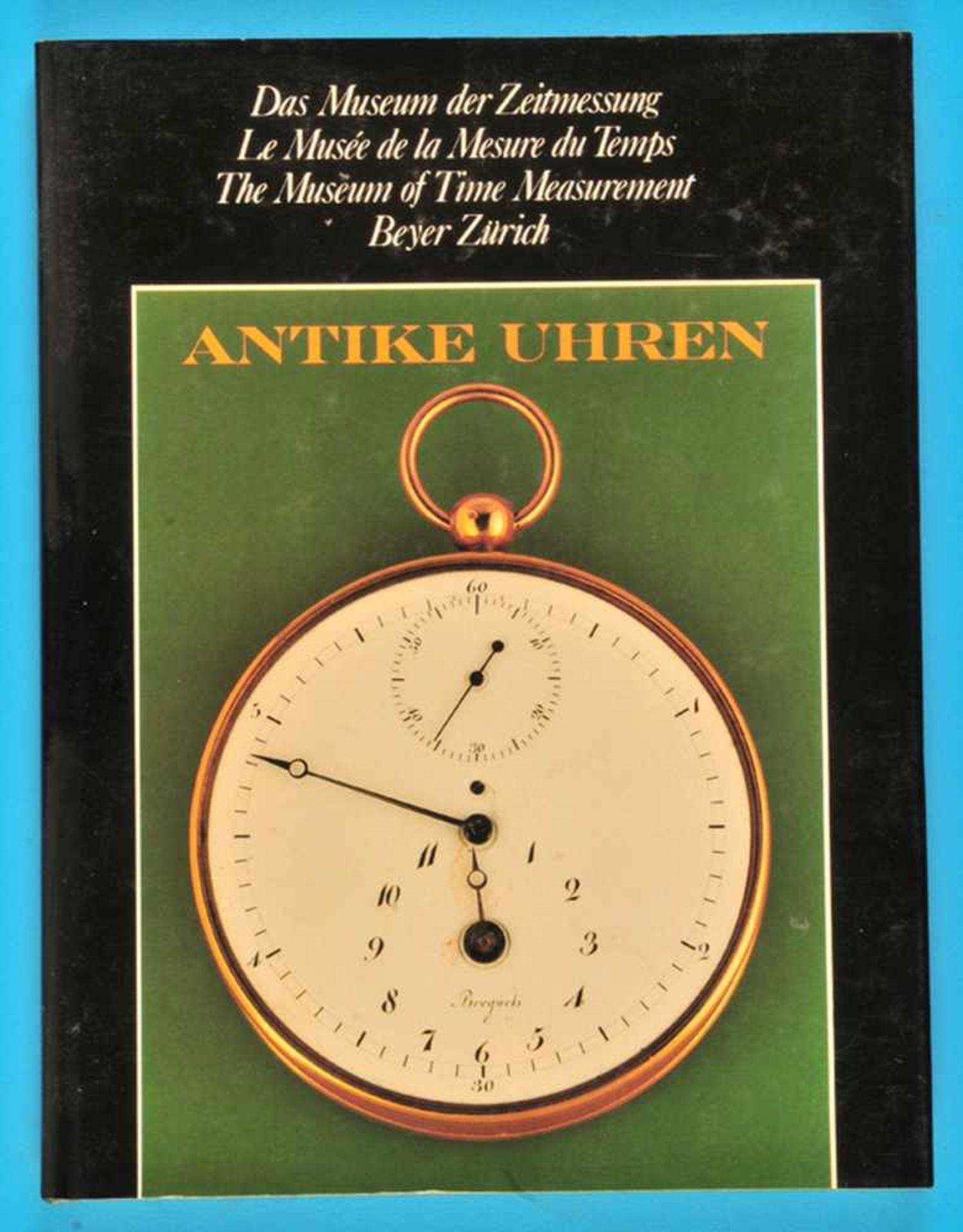 Los 24 - Beyer, Antike Uhren – Das Museum der Zeitmessung, 1982Beyer, Antike Uhren – Das Museum der
