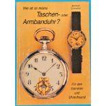 Bernhard Schmeltzer, Wie alt ist meine Taschenoder Armbanduhr? Für den Sammler und Uhrenfreund,