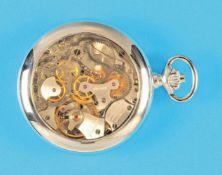 Tissot pocket watch with cronographTissot Taschenuhr mit Chronograph, beidseitig verglastes Gehäuse,