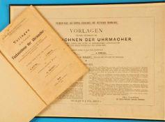 A. Kittel, J. Emele, Vorlagen für den Unterricht im Fachzeichnen der Uhrmacher. Zum Gebrauch für
