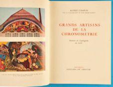 Alfred Chapuis, Grands Artisans de la Chronométrie, Histoire de l'horlogerie au Locle, 1958Alfred
