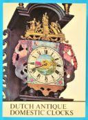 Dr. J. L. Sellink, Dutch Antique Domestic Clocks, ca. 1670-1870, limitierte Auflage, 1973, 367