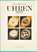 Ebner Verlag, Die schönsten Uhren, Edition 1991, 183 Seiten mit vielen Farbabbildungen von