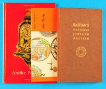 "Bundle with 3 little books: ""Bastian's heiteres Juwelier Brevier"", ""Knaurs bunte Welt, Alte"