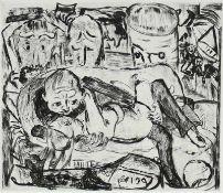 Beckmann, Max (Leipzig 1884 - 1950 New York)Kasimir Edschmid: Die FürstinBuchausgabe mit sechs
