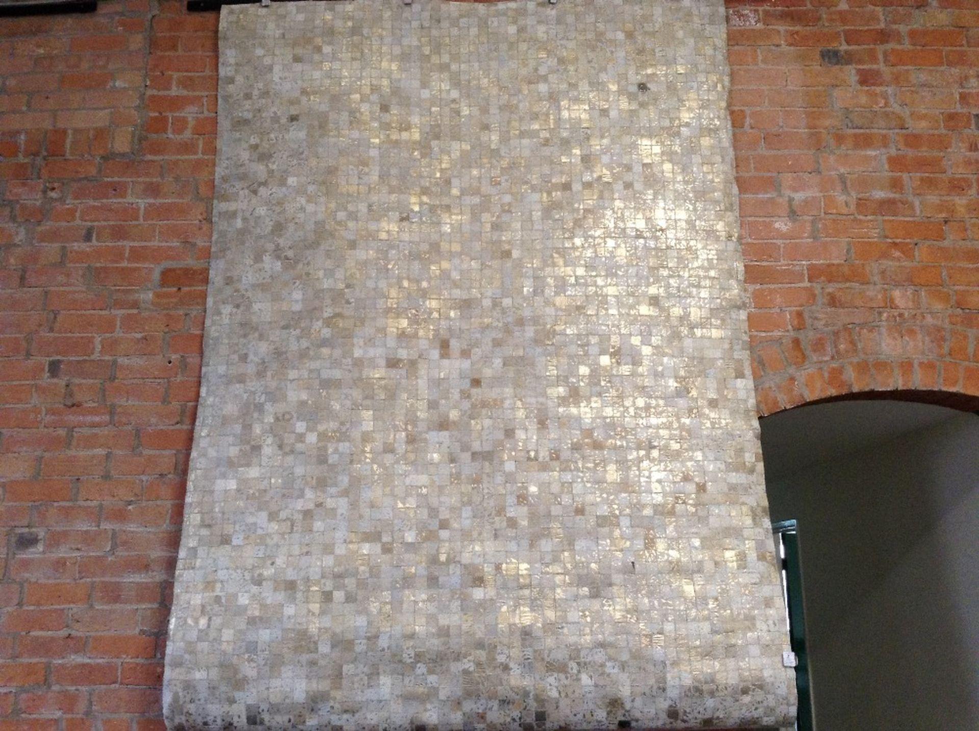 Lot 2 - Kayoom Handgefertigter Teppich Rocket in Gold/Grau
