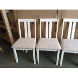 Lot 90 - August Grove Brookvale Solid Wood Dining Chair x2(HVW9021 - 12234/7)