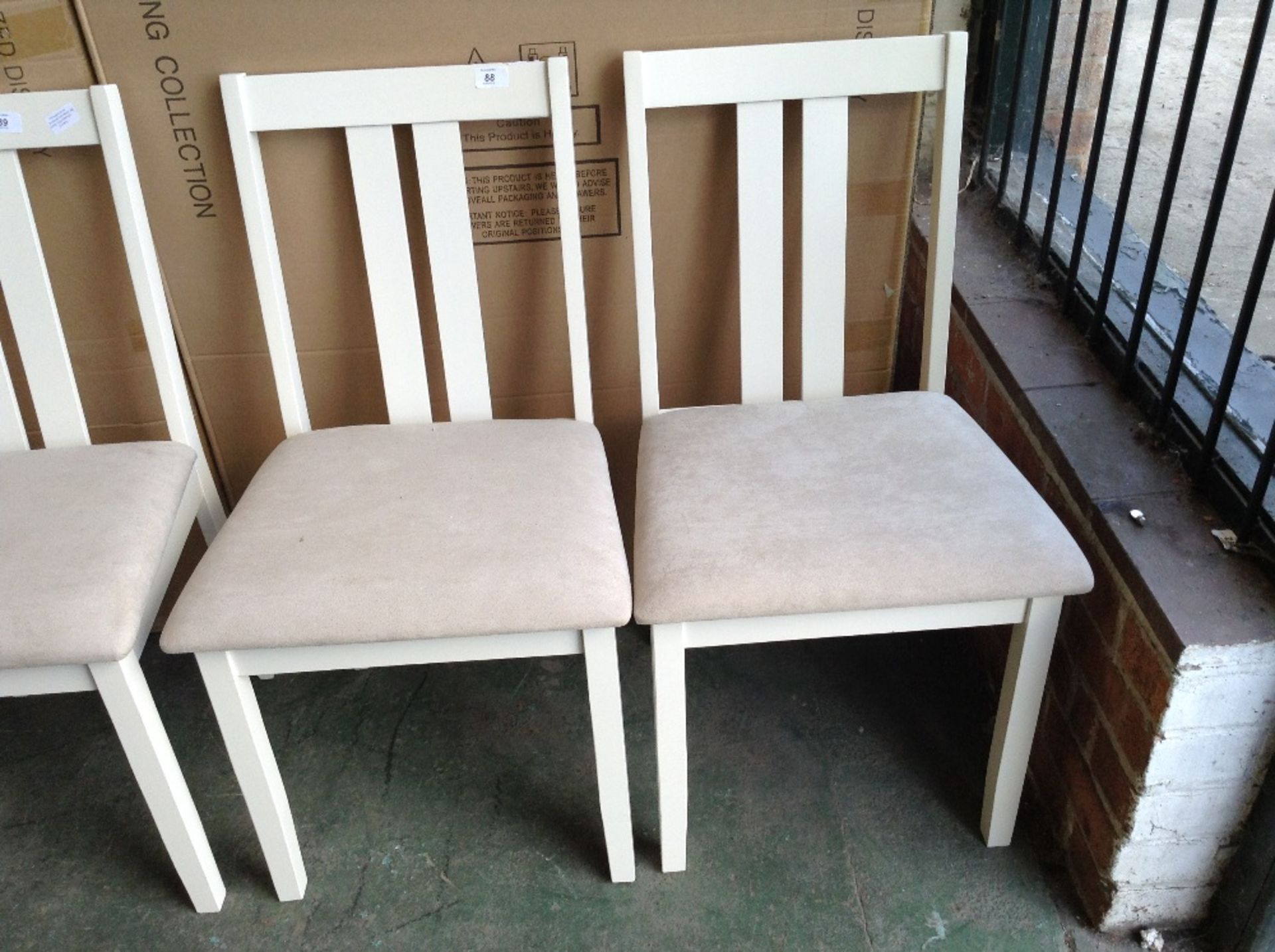 Lot 88 - August Grove Brookvale Solid Wood Dining Chair(HVW9021 - 12224/5)