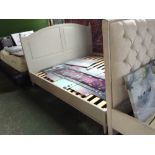 Lot 192 - HAND MADE PAINTED 6 FT BED FRAME