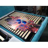 Lot 157 - Urban Designs 'Colourful Skull' Multi-Piece Image Graphic Art Print on Canvas (BRBA4722 - 11981/19)