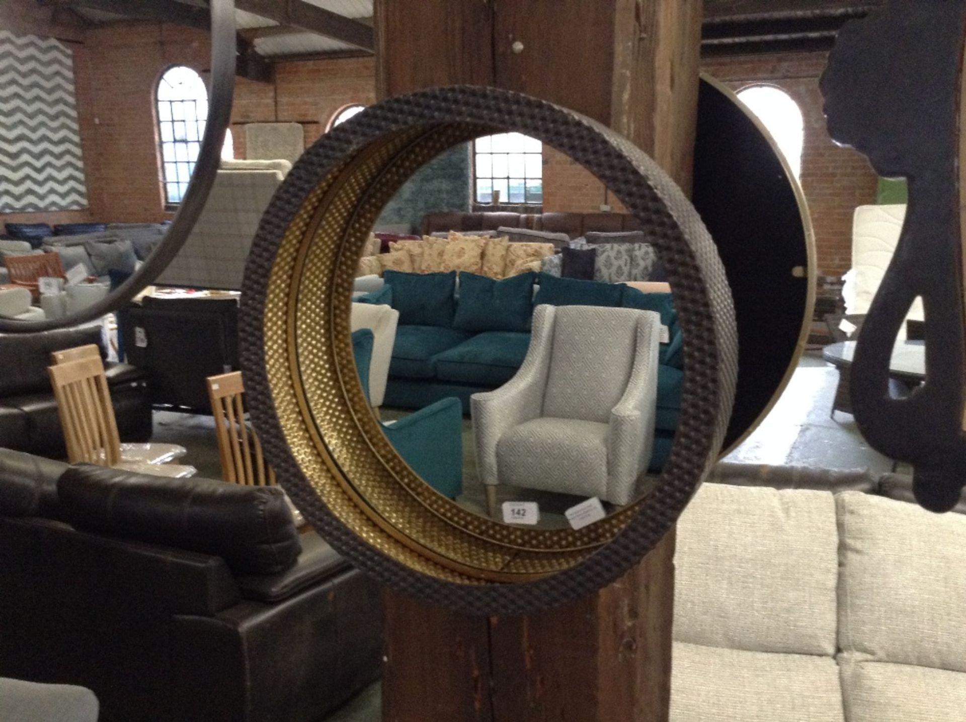 Lotto 142 - Canora Grey Ponti Accent Mirror (MRFO1179 - 13867/