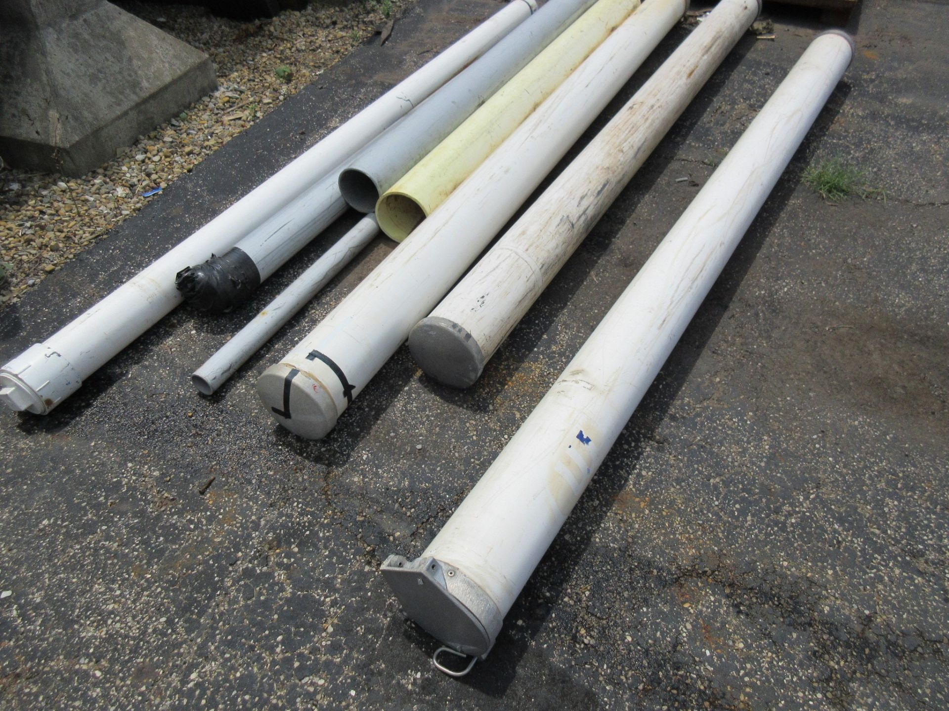 Lot 31 - LOT OF PVC PIPE TOOL SLEEVES