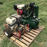 Lot 42 - ROL-AIR AIR COMPRESSOR AND HONDA POWER WASHER