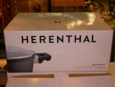 Boxed Herenthal 28cm Forged Aluminium Marble Coated Casserole Dish RRP £100