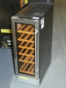 Stainless Steel Tall Standing Wine Cooler (Viewing Is Highly Recommended)