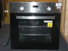 Stainless Steel and Black Glass Fully Integrated Electric Single Oven (Viewing Is Highly