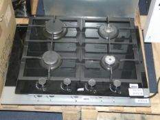 Lot to Contain 2 Assorted Gas on Glass Hobs (Viewing Is Highly Recommended)