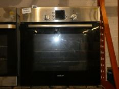 Bosch HM4B141 Stainless Steel Fan Assisted Single Electric Oven
