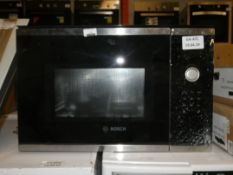Bosch TM925HUBF Fully Integrated Black and Stainless Steel Trim Microwave (In Need of Attention)
