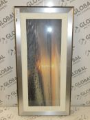 Mike Shepherd Textured Sunset Set Framed Wall Art Picture RRP £130