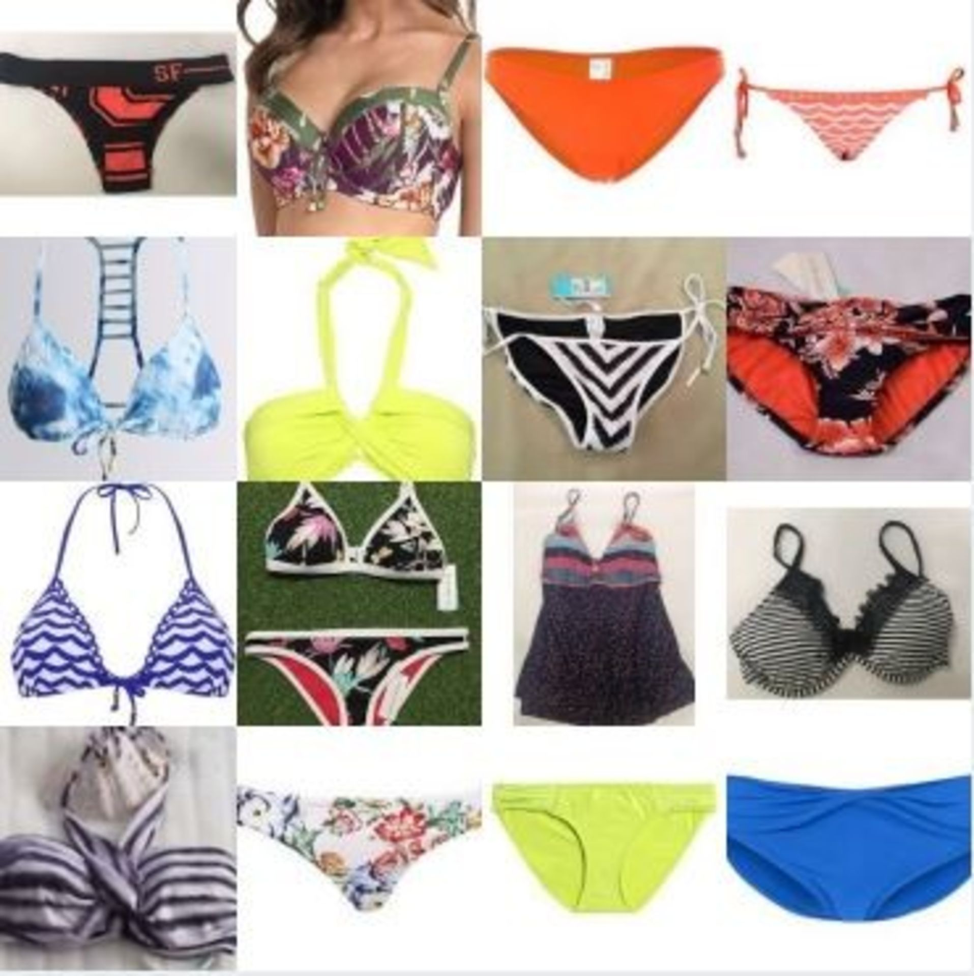 Lot 6 - Sourced From Big Brand Bikini Manufacturer SeaFolly: