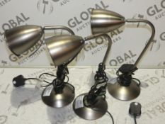 Lot to Contain 3 Puter Finish Chelsea Touch Control Lamps RRP£45.0(RET00264177)(RET00264129)(