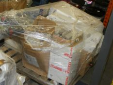 Pallet to Contain Lights, Clothes Airers, OCD Signs RRP £200 - £400