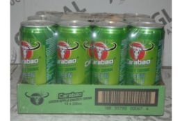 Lot to Contain 5 Cases of Carabao Energy Drinks (12 Cans Per Case) Combined RRP £60