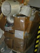 Pallet to Contain a Large Amount of John Lewis Items to Include Children's Toys, Bins, Clocks,