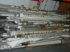 Pallet to Contain a Large Amount of John Lewis Roller Blinds, Curtain Poles and Accessories RRP £1,