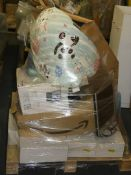 Pallet to Contain Assorted Items to Include Bean Bags, Cooker Hood, TV Unit, OCD Signs, Network