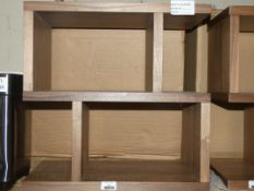 Boxed Content By Terence Conran Balance Side Table in Walnut RRP £275 (2198665) (Viewing or