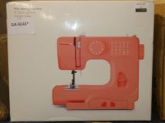 Boxed 10 Stitch Mini Sewing Machine RRP £75 (Viewing or Appraisals Highly Recommended)
