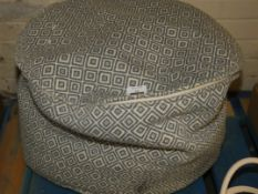 Jacquard Design Bean Bag RRP £55 (Viewing or Appraisals Highly Recommended)
