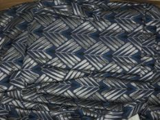 Boxed Pair of Pencil Pleat Headed Designer Curtains (Viewing or Appraisals Highly Recommended)