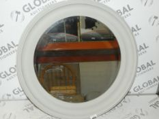 Grey Croft Collection Pothole Mirror (In Need of Attention) RRP £125 (Viewing or Appraisals Highly