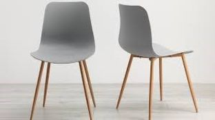Talisa Dining Chairs in White RRP £80 Each (Viewing or Appraisals Highly Recommended)