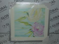 Breathe Canvas Framed Wall Art By Susan Pepe RRP £100 (Viewing or Appraisals Highly Recommended)