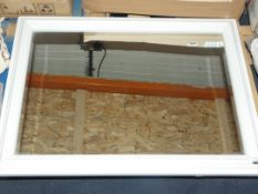 White Croft Rectangle Mirror (60 x 80cm) (Viewing or Appraisals Highly Recommended)