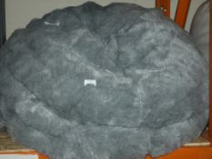 Large Fur Bean Bag RRP £95 (Viewing or Appraisals Highly Recommended)