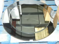 John Lewis And Partners Smashed Circle Mirror (2356511) (Viewings And Appraisals Are Highly