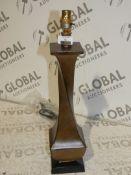 Boxed John Lewis And Partners Ella Hand Painted Base Fabric Shade Table Lamp RRP£110.0(2379166)(