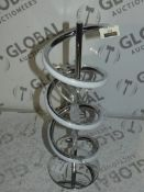 John Lewis And Partners Zena Twist Table Lamp RRP £95 (RET00420047) (Viewings And Appraisals Are