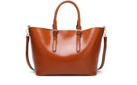 Brand New Womens Coolives High Capacity Shoulder Bag in Brown RRP £42.99
