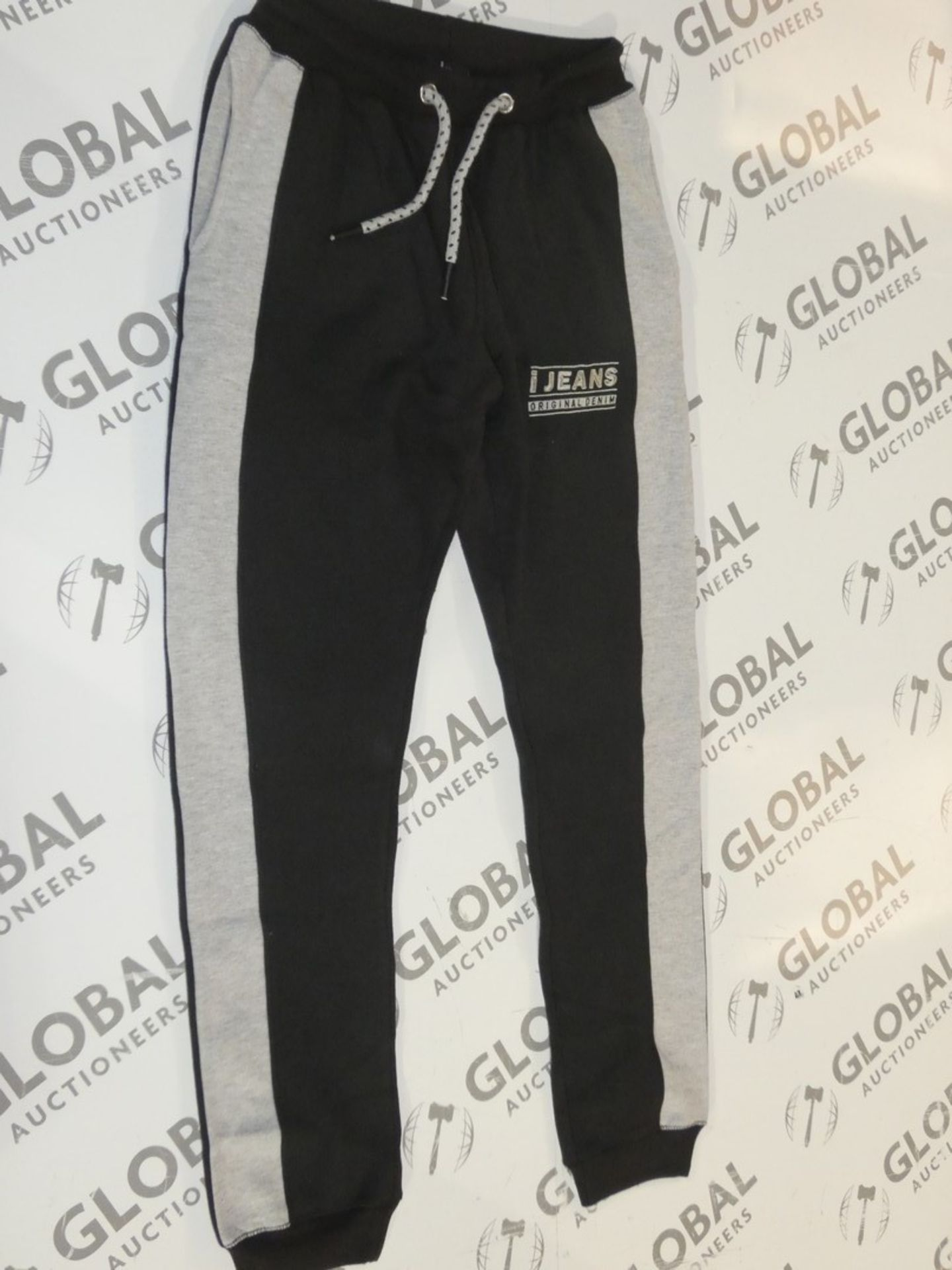 Lot 169 - Assorted Brand New Pairs Of Ijeans Original Denim Black Lounging Pants In Assorted Sizes RRP £25 A