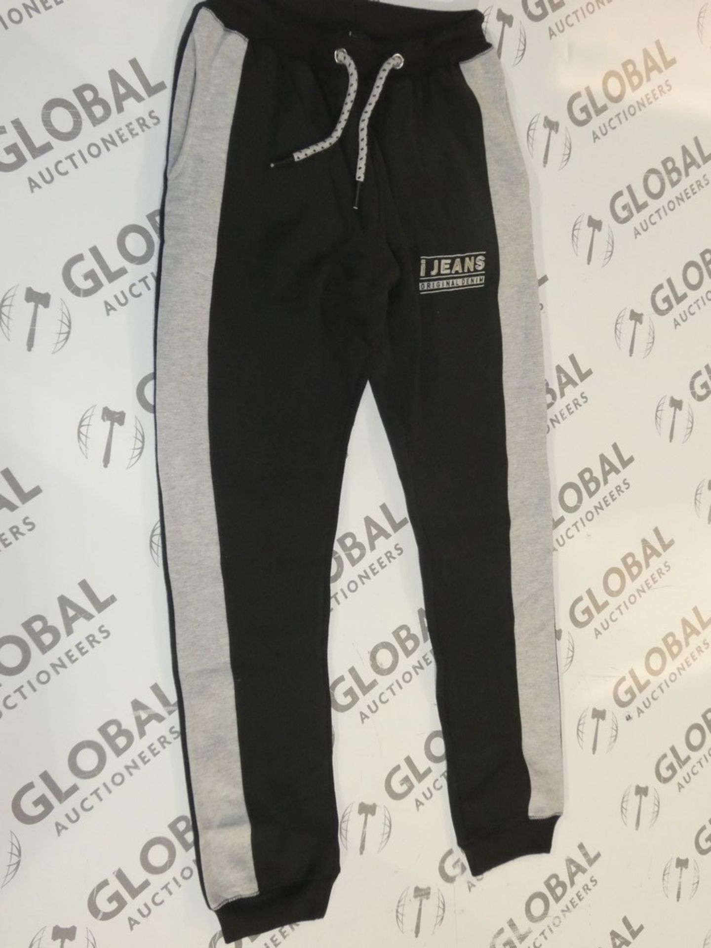 Lot 165 - Assorted Brand New Pairs Of Ijeans Original Denim Black Lounging Pants In Assorted Sizes RRP £25 A