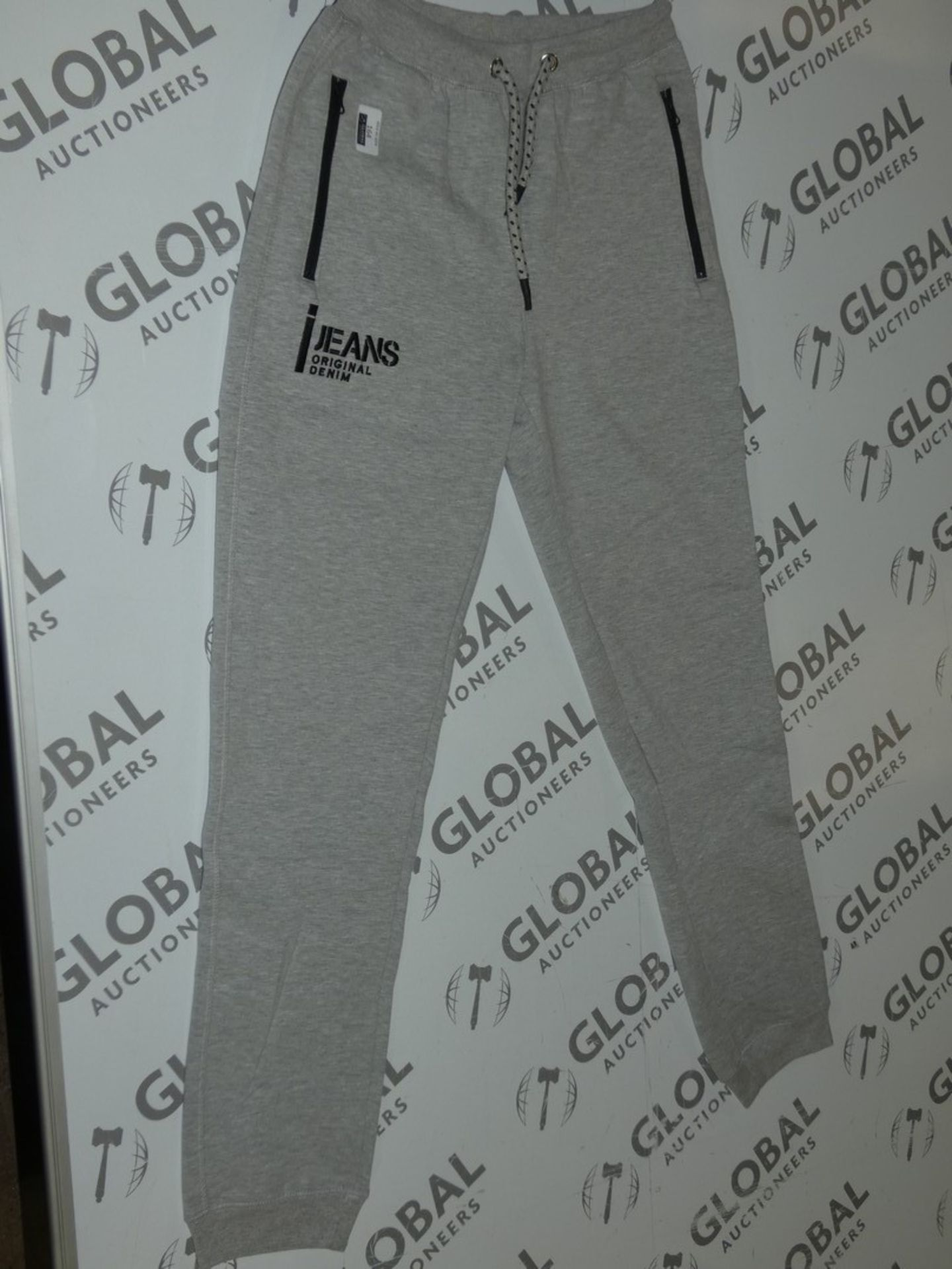 Lot 164 - Assorted Brand New Pairs Of Ijeans Original Denim Grey Lounging Pants In Assorted Sizes RRP £25 A