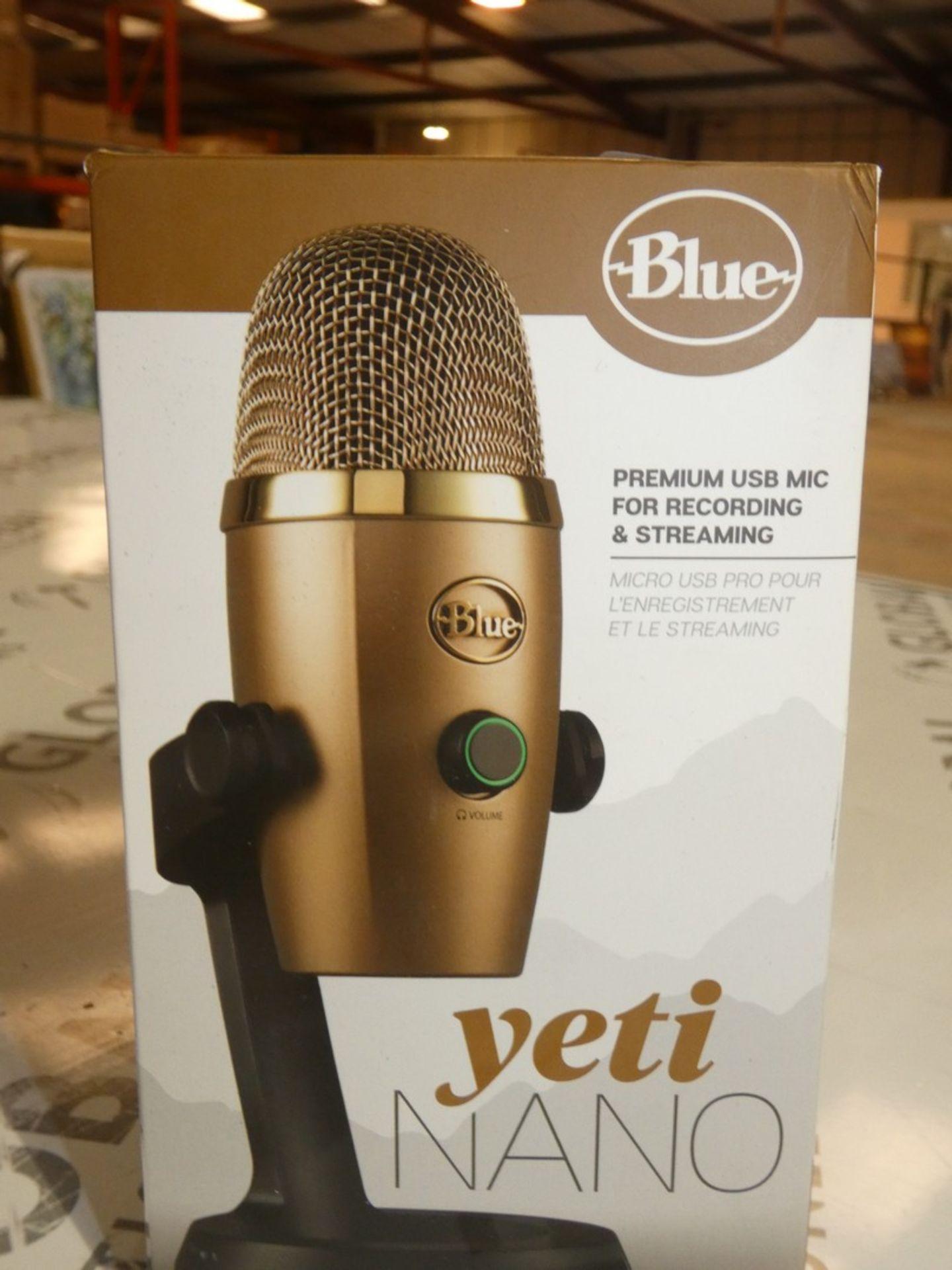 Lot 259 - Boxed Yetti Nano Premium USB Mic For Recording and