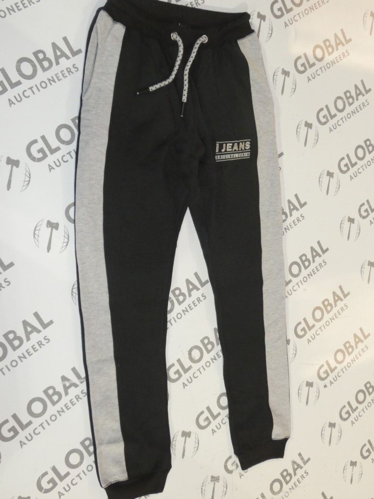 Lot 166 - Assorted Brand New Pairs Of Ijeans Original Denim Black Lounging Pants In Assorted Sizes RRP £25 A